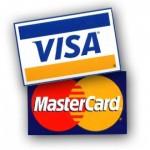 Логотип Визы и Мастеркард