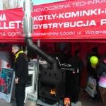 Выставочный стенд дилера Kostrzewa в городе Лодзь