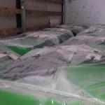 Пеллетные котла на складе